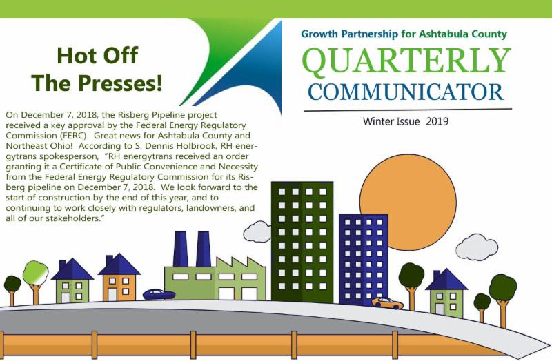 Growth Partnership for Ashtabula County quarterly communicator winter 2018 issue