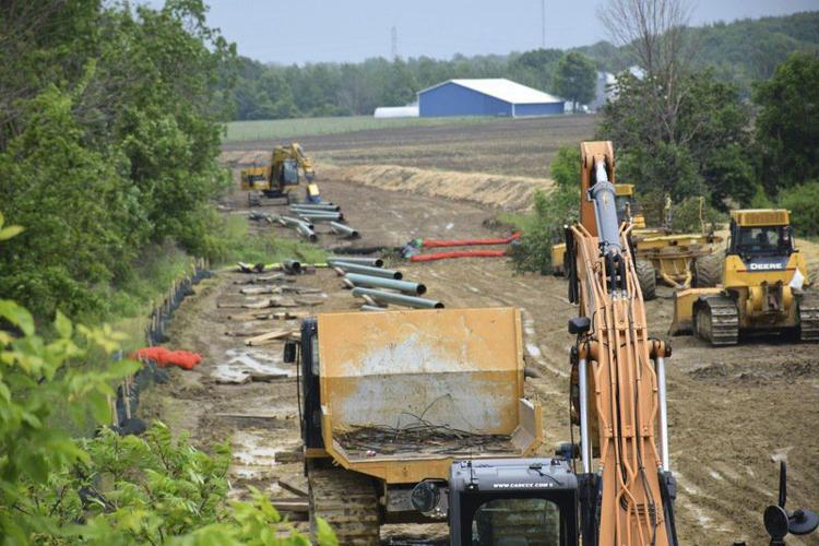testing nears completion on Meadville to Ohio Pipeline